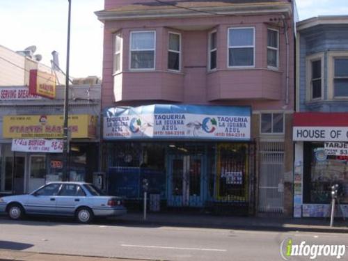Taqueria La Iguana Azul - San Francisco, CA