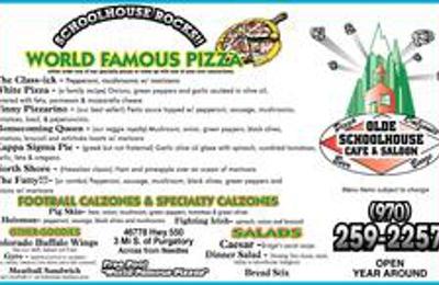 Olde Schoolhouse Cafe & Saloon - Durango, CO