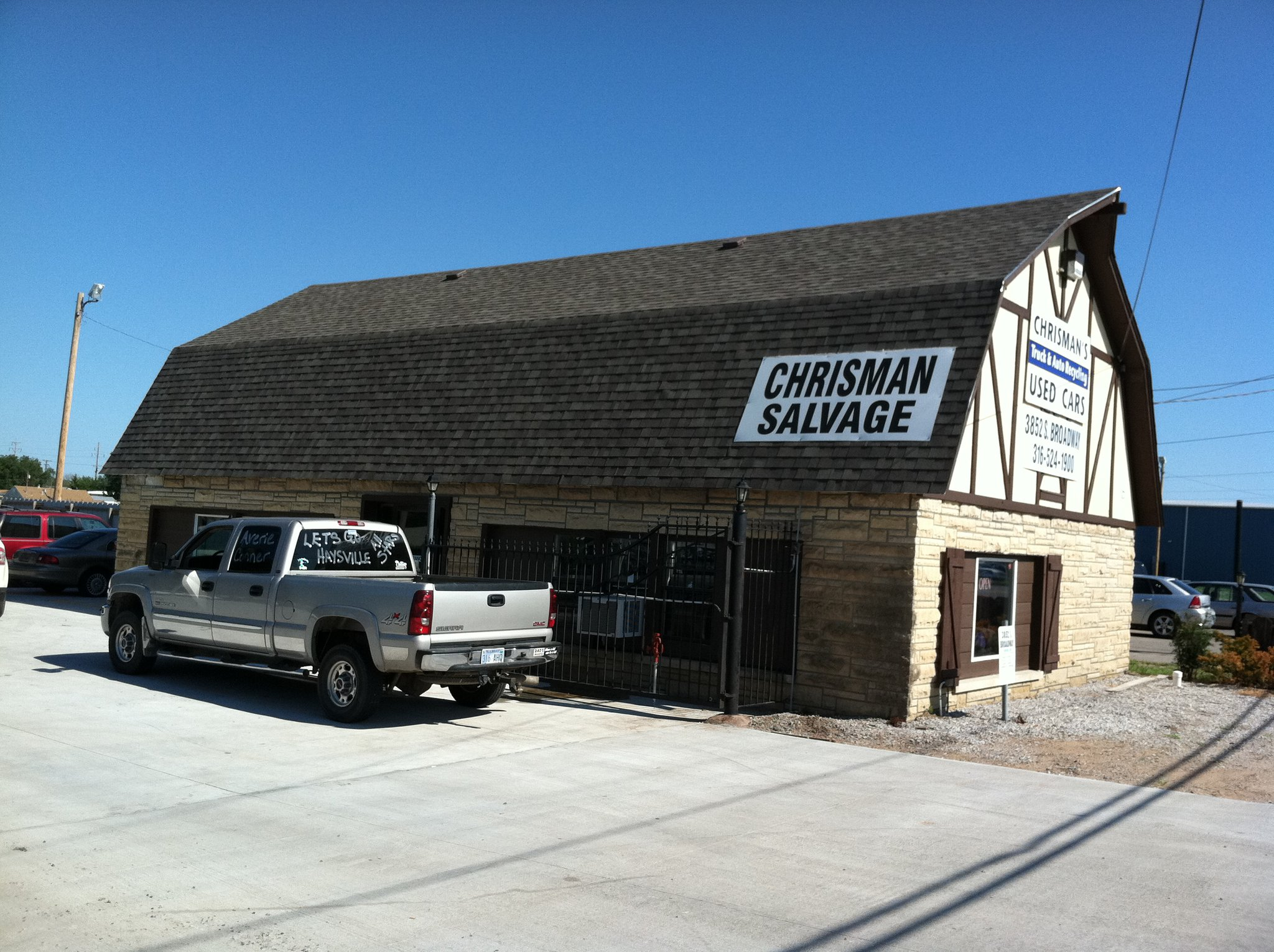Chrisman's Truck & Auto Salvage, Wichita KS