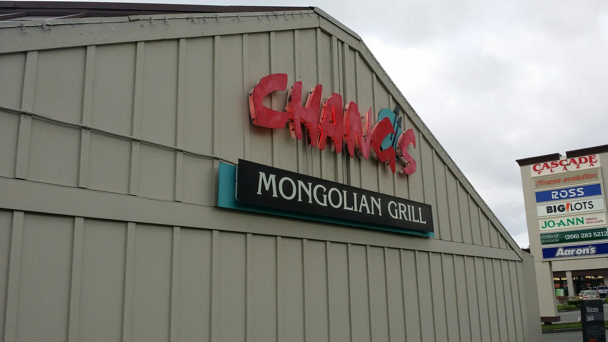 Chang's Mongolian Grill, Everett WA