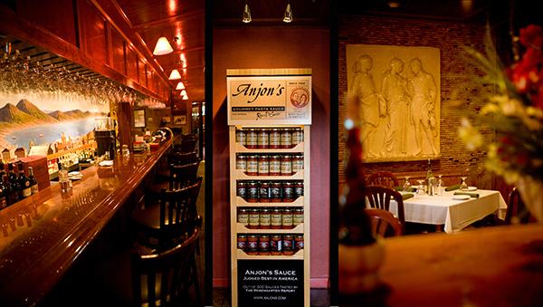 Anjon's Italian Restaurant, Scarborough ME