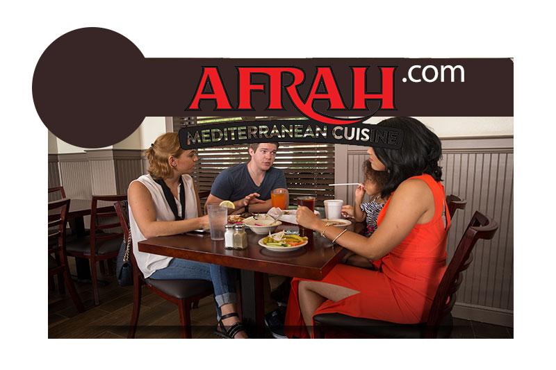 Afrah Mediterranean Restaurant and Pastries, Richardson TX