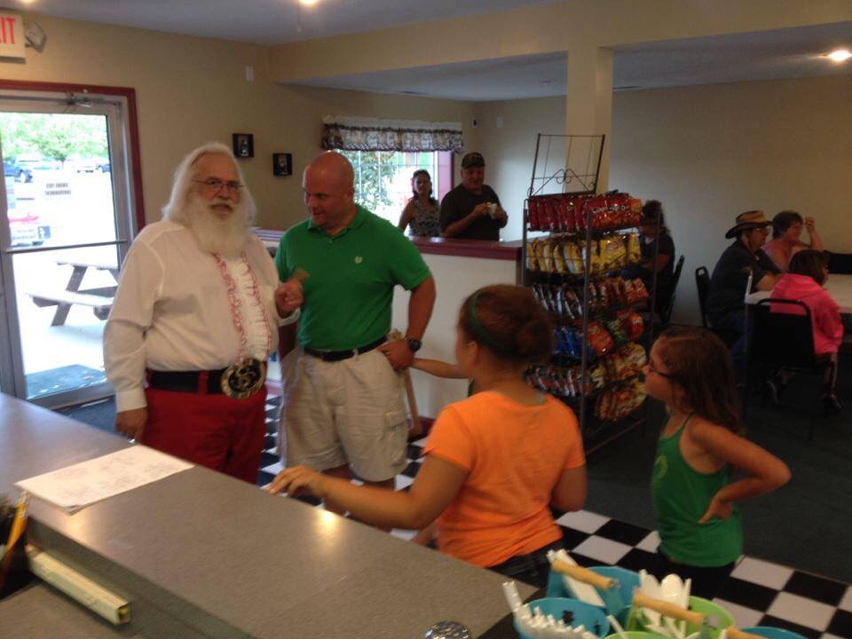 Frosty's Fun Center, Santa Claus IN