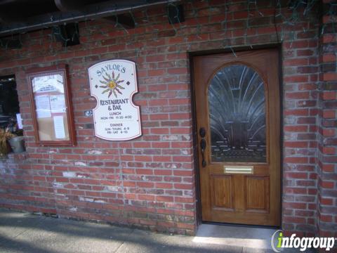 Saylor's Restaurant and Bar, Sausalito CA