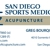 Greg Bourque L.Ac. / San Diego Sports Medicine