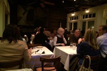 Dining room at Horse Radish Grill.