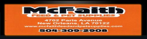 M C Faith Feed & Pet Supplies - New Orleans, LA