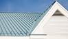 Metal roofing can protect homes from harsh solar rays.