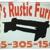 Ruby's Rustic Furniture