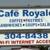 Cafe' Royale