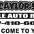 Caylor's Mobile Auto Repairs