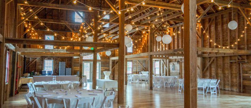 1888 Wedding Barn In Scenic Sunday River Valley Area