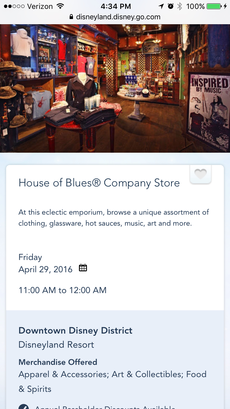House Of Blues, Anaheim CA