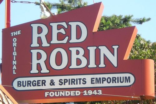 Red Robin Gourmet Burgers, Mount Juliet TN