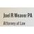 Weaver, Joel R., PA