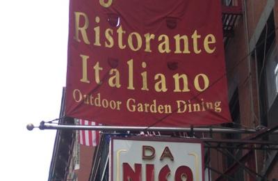 Da Nico Restaurant - New York, NY