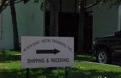 Scientific Metal Finishing Inc - Santa Clara, CA