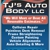 TJ's Auto Body LLC