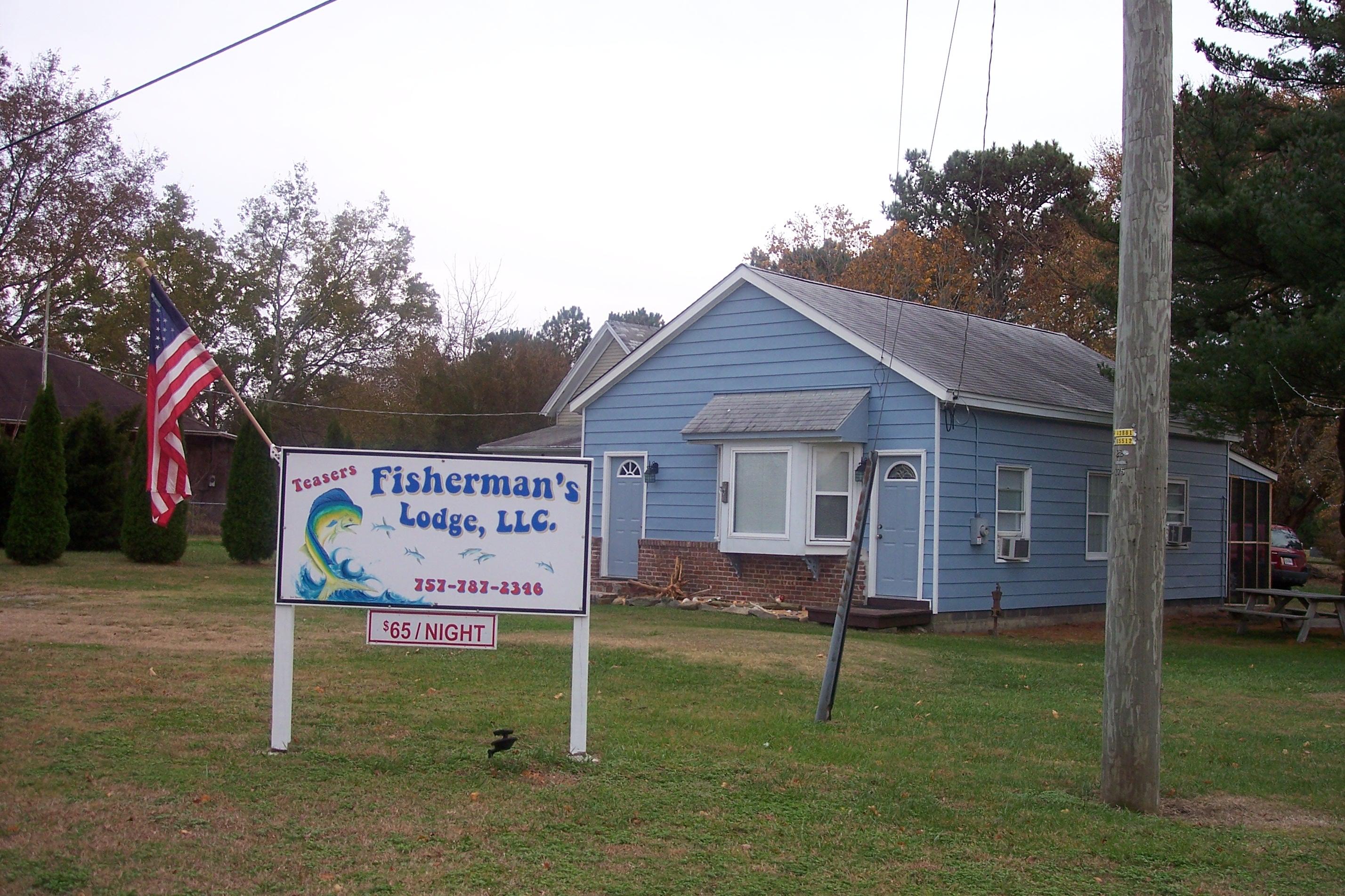 Teasers  Fishermans Lodge, Wachapreague VA