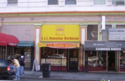 L&L Hawaiian Barbecue - San Francisco, CA
