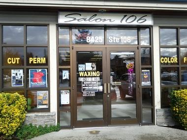 Salon 106, Mercer Island WA