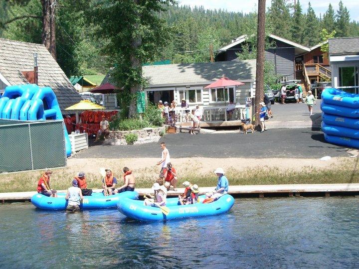 Truckee River Rafting, Tahoe City CA