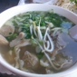 Vien Cafe - Los Angeles, CA. Everything pho #8 on the menu.