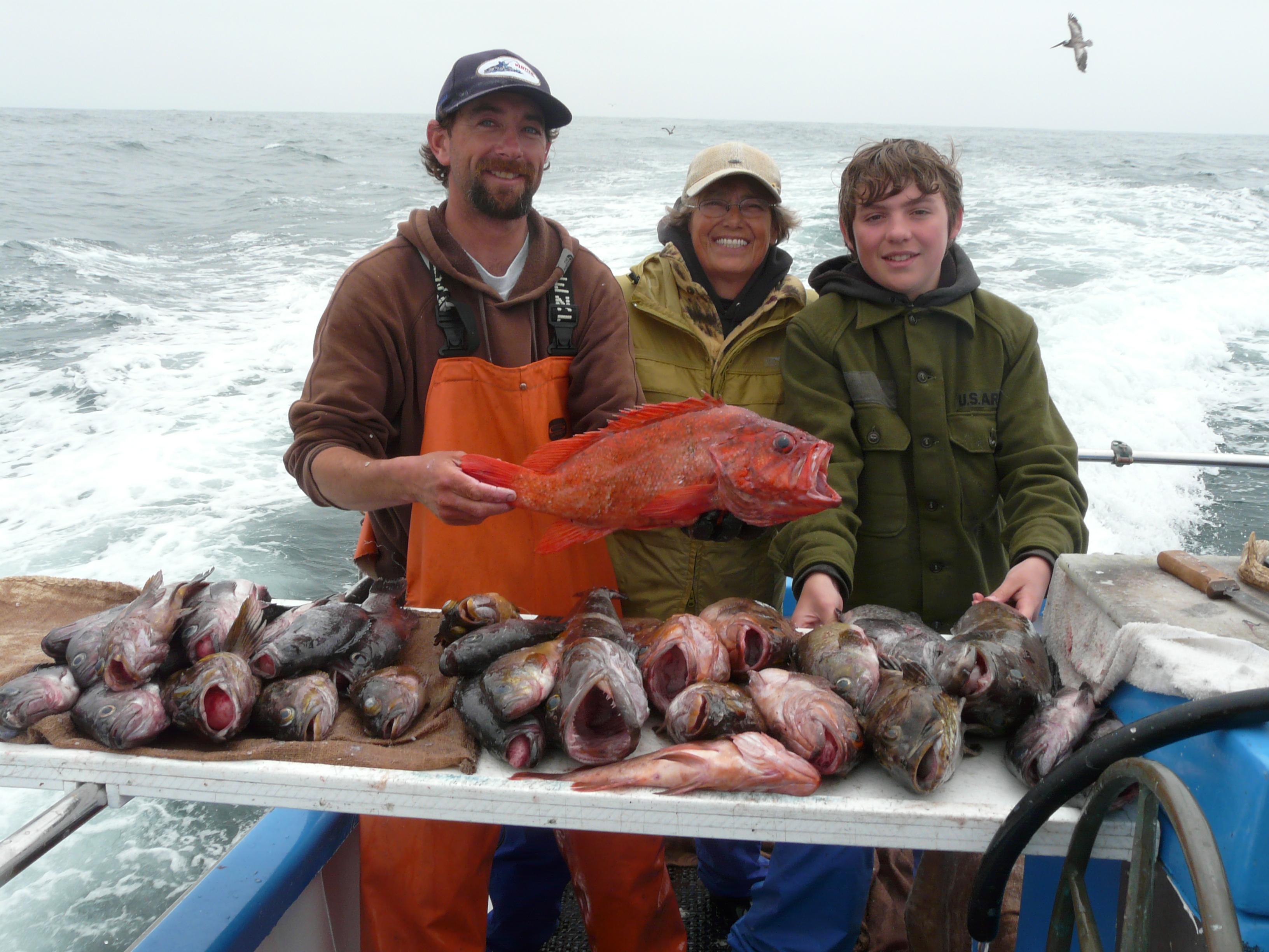 Riptide charters half moon bay ca 94019 for Deep sea fishing california
