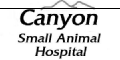 Canyon Small Animal Hospital logo