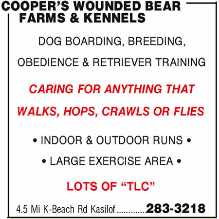 Cooper's Wounded Bear Farms & Kennels