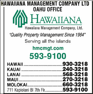 Hawaiiana Management Co Ltd