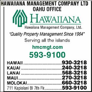 Hawaiiana Management Co Ltd