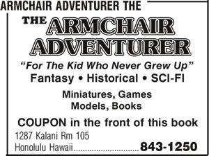 The Armchair Adventurer
