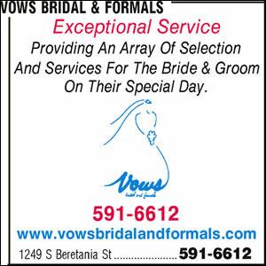 Vows Bridal & Formals