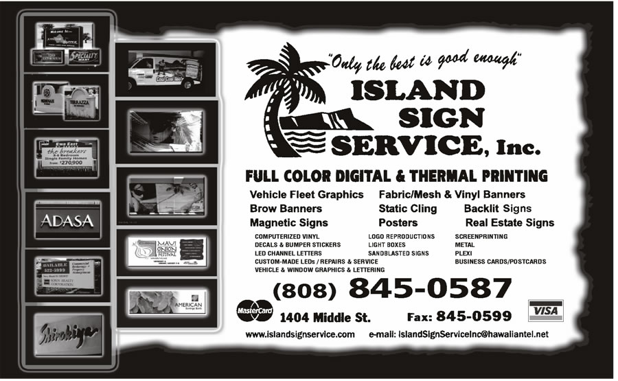 Island Sign Service Inc