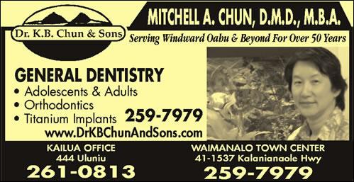 Chun K B Dr DDS