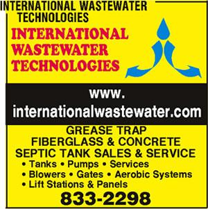 International Wastewater Technologies