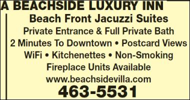 A Beachside Luxury Inn