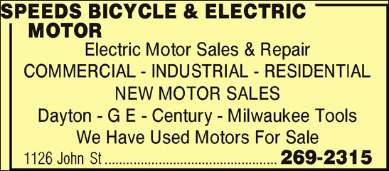 Speeds Bicycle Sales & Service