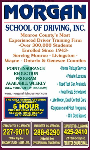 Morgan School Of Driving Inc