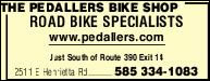 Pedallers Bike Shop LTD