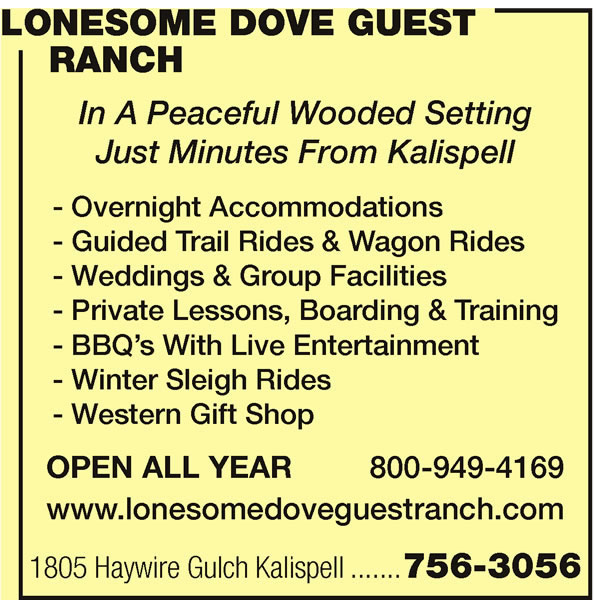 Lonesome Dove Guest Ranch