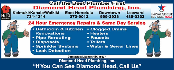 Diamond Head Plumbing Inc