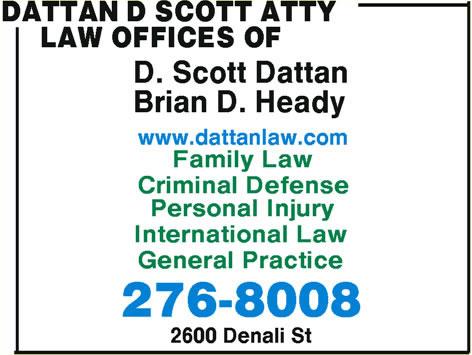 Dattan D Scott Law Offices Of