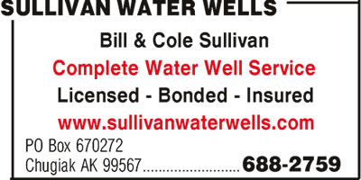 Sullivan Bill & Cole Water Wells