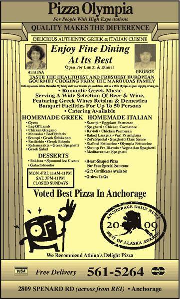 Pizza Olympia