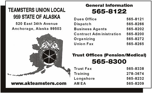 Teamsters Union Local 959 State Of Alaska
