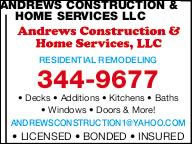 Andrews Construction & Home Services, LLC