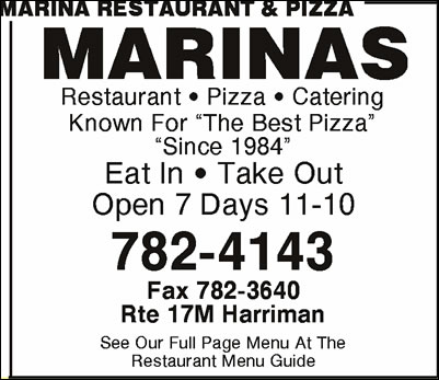 Marina Restaurant & Pizza