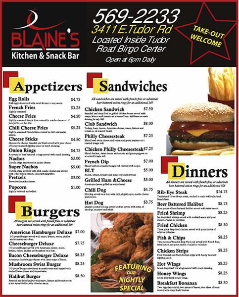 Blaine's Kitchen